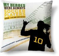 ShopMantra Ronnie Brazil Football Printed Cushions Cover (Cushion Pillow Cover, 40.64 Cm*40.64 Cm)