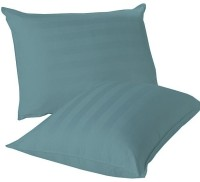 LNT Striped Pillows Cover Pack Of 2, 43.2 Cm*69 Cm, Blue