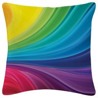 Amore Amore Decor Rainbow Abstract Cushions Cover