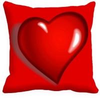 MeSleep Heart Printed Cushions Cover (40.64 Cm*40.64 Cm, Multicolor)