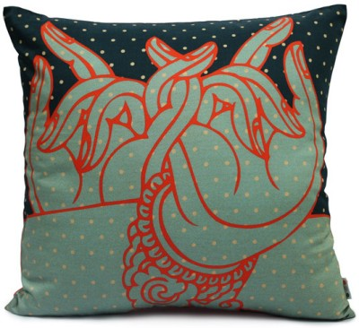Made in India Hand Expressions Cushions Cover Pack of 1