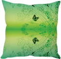 StyBuzz Green Butterfly Abstract Art Cushions Cover - Pack Of 1