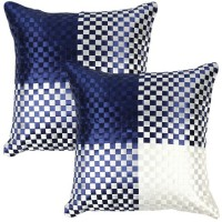 Weaves Soundarya Polysilk Mat Weave Cushions Cover