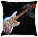 Amore Guitar 12 Cushions Cover - Pack Of 1