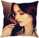 StyBuzz Artistic Girl Cushion Cushions Cover - CPCDWR748JHYFEZK