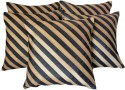 Zikrak Exim Stripy Cushions Cover - Pack Of 5