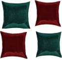 "SEJ By Nisha Gupta Rich Single Color Sequin 16"" By 16"" Cushion Cover. Cushions Cover - Pack Of 4 - CPCDYVZ53NXGDFBC"