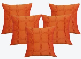 Dekor World World Of Square Cushions Cover - Pack Of 5
