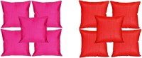 MeSleep Multi Color Quilted Cushions Cover (Pack Of 10)
