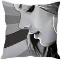 StyBuzz Girl In Grey Cushion Cushions Cover - CPCDWR74WKMRXGHA