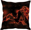 StyBuzz Girl Fire Abstract Cushions Cover - Pack Of 1