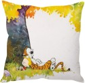 StyBuzz Calvin And Hobbes Cushions Cover - Pack Of 1 - CPCDYKQQEMSZQGMQ