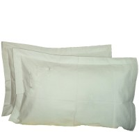 Amita Home Furnishing Embroidered Pillows Cover Pack Of 2, 43 Cm*69 Cm, White - CPCE6ZG3ZK5AHGVU
