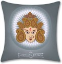 Bluegape Goddess Maa Durga Spiritual Cushions Cover - Pack of 1
