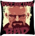 Snoogg Breaking Bad Illustration Print Throw Pillows 16 X 16 Inch Cushions Cover - Pack Of 1