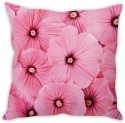 StyBuzz Pink Flowers (12x12) Cushions Cover - Pack Of 1