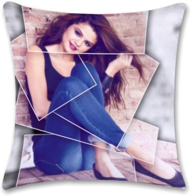 Shoprock Selena Gomez Abstract Cushions Cover (Cushion Pillow Cover, 40.64*40.64)