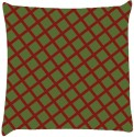 Snoogg Chequered Pattern Design 1590 Throw Pillows 16 X 16 Inch Cushions Cover - Pack Of 1