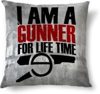 ShopMantra Arsenal Gunner Printed Cushions Cover (Cushion Pillow Cover, 40.64 Cm*40.64 Cm)