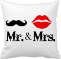 Tiedribbons Gifts For Mr And Mrs Cushion Cover - Pack Of 1
