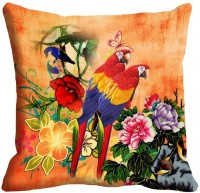 Mesleep Parrot Digitally Printed Cushions Cover (Pack Of 1)