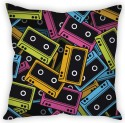 StyBuzz Cassettes Abstract Cushion Cover Cushions Cover - Pack Of 1
