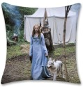 Bluegape Game of Thrones Sansa Stark Cushions Cover: Cushion Pillow Cover