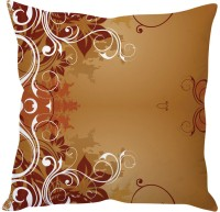 StyBuzz Brown Art Abstract (12x12) Cushions Cover (Pack Of 1)