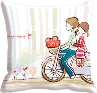 Aalapino Valentines Day Printed Cushions Cover (40.64 Cm*40.64 Cm)