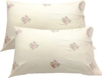 Milano Home Embroidered Pillows Cover Pack Of 2, 48 Cm*76 Cm, Multicolor