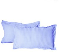 Hothaat Striped Pillows Cover Pack Of 2, 30 Cm*20 Cm, Blue