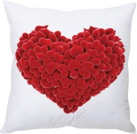 StyBuzz 3d Hearts Printed Cushions Cover (40 Cm*40 Cm, Multicolor)