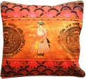 Eco Corner Indian King Cushions Cover - Pack Of 1