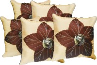 Car Vastra Floral Floral Cushions Cover (Pack Of 5)