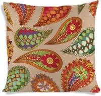 ShopMantra Printed Flower Pattern Floral Cushions Cover (Cushion Pillow Cover, 40 Cm*40 Cm)