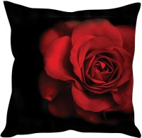 StyBuzz Red Rose Printed Cushions Cover (Cushion Pillow Cover, 40*40) - CPCEYQMEGDBTPVTS