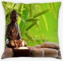 Amore Buddha 2 Cushions Cover - Pack Of 1