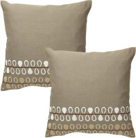 Rajrang Designer Embroidered Embroidered Cushions Cover (Pack Of 2, 41*41)