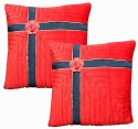 Dekor World Floral Lace Bonaza Collection Cushions Cover - Pack Of 2 - CPCDWYYRGDDWVQJH