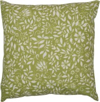 Adt Saral Bloom Printed Cushions Cover (Green, White)