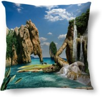 Amy Nature Beauty Abstract Cushions Cover (40.64 Cm*40.64 Cm, Multicolor)