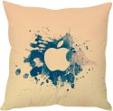 StyBuzz Apple Logo Abstract (12x12) Cushions Cover - Pack Of 1