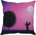 StyBuzz Couple In Love 2 (12x12) Cushions Cover - Pack Of 1