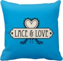 Tiedribbons Lace And Love Cushion Cover - Pack Of 1