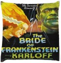 Snoogg Bride Of Frankanstein 2859 Throw Pillows 16 X 16 Inch Cushions Cover - Pack Of 1