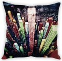 StyBuzz Color Abstract Cushion Cover Cushions Cover - Pack Of 1