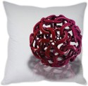 StyBuzz Red Ball Cage Cushion Cover Cushions Cover - Pack Of 1