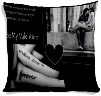 AMY Valentines Day Boy Girl Love Printed Cushions Cover (40.64 Cm*40.64 Cm)