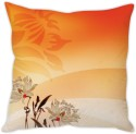 StyBuzz Floral Abstract Cushion Cover Cushions Cover - Pack Of 1