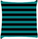 Snoogg Horizontal Lining Pattern Design 1877 Throw Pillows 16 X 16 Inch Cushions Cover - Pack Of 1